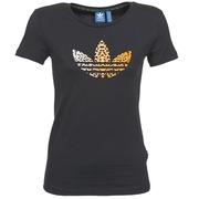 T-shirts manches courtes adidas Originals LEO TREFOIL TEE