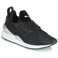 Chaussures Femme Baskets basses Puma WN MUSE SATIN II.BLACK Noir