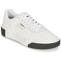Chaussures Femme Baskets basses Puma CALI Blanc / Noir