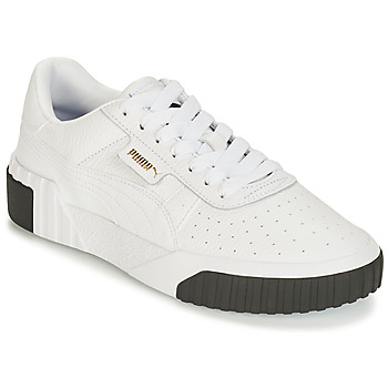 separation shoes 31bf3 4a1fd Chaussures Femme Baskets basses Puma CALI Blanc   Noir