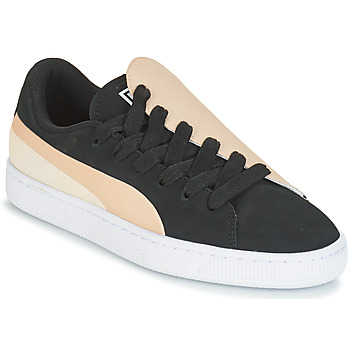 Chaussures Femme Baskets basses Puma WN BASKET CRUSH PARIS.SILV Noir