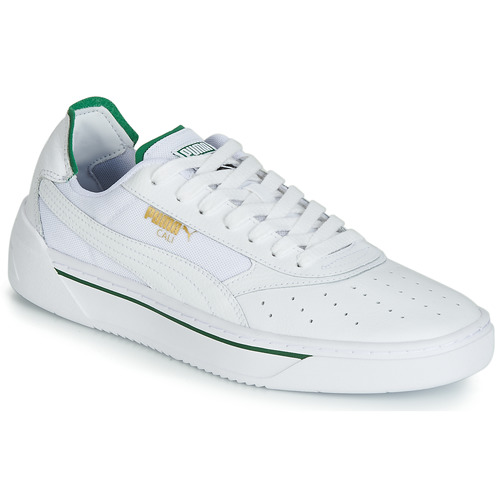 Chaussures Homme Baskets basses Puma CALI.WH-AMAZON GREEN-WH Blanc / Vert