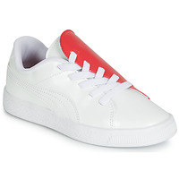 Chaussures Fille Baskets basses Puma PS BKT CRUSH PATENT AC.W-H Blanc