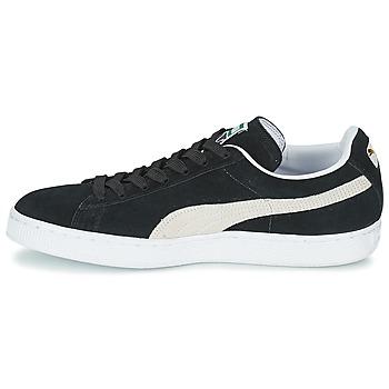 Puma SUEDE CLASSIC Noir / Blanc