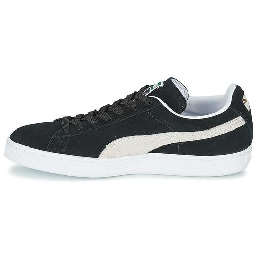 Puma SUEDE CLASSIC + Noir / Blanc