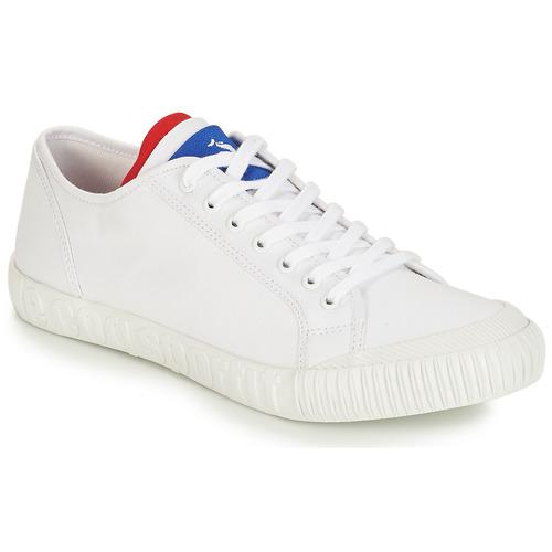 Chaussures Baskets basses Le Coq Sportif NATIONALE Blanc / Bleu / Rouge