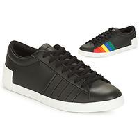 Chaussures Femme Baskets basses Le Coq Sportif FLAG Noir / Multicolore