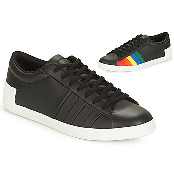 Chaussures Femme Baskets basses Le Coq Sportif FLAG Noir / Multicolor