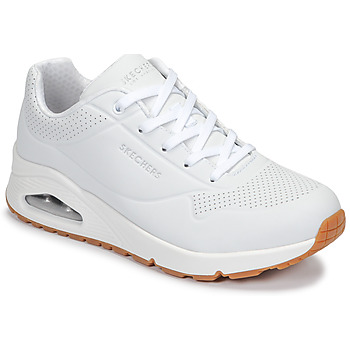 Chaussures Femme Baskets basses Skechers UNO Blanc