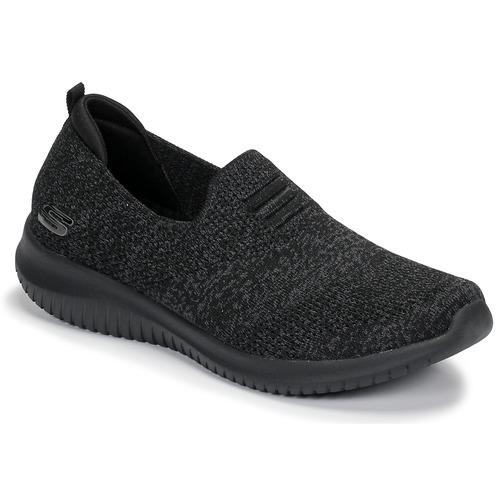 Chaussures Femme Slip ons Skechers ULTRA FLEX Noir