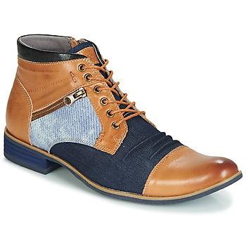 Chaussures Homme Boots Kdopa ALMERIA Camel / Bleu