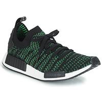 Chaussures Baskets basses adidas Originals NMD_R1 STLT PK Noir / Vert