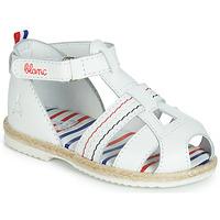 Chaussures Enfant Sandales et Nu-pieds GBB COCORIKOO Blanc