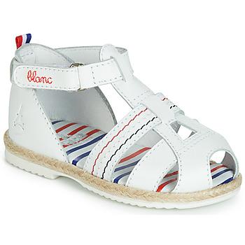 Chaussures Enfant Sandales et Nu-pieds GBB COCORIKOO VTE BLANC DPF/ISA