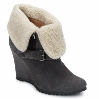 Chaussures Femme Bottines Atelier Voisin CARLA Gris