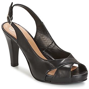 Chaussures Femme Sandales et Nu-pieds Betty London LIMONADE Noir