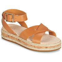 Chaussures Femme Sandales et Nu-pieds Clarks BOTANIC POPPY Marron