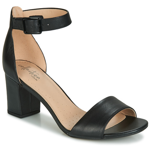 Chaussures Femme Escarpins Clarks DEVA MAE Noir