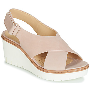 Chaussures Femme Sandales et Nu-pieds Clarks PALM CANDID Nude