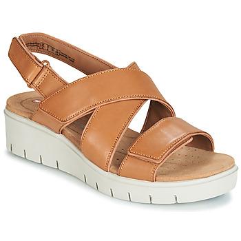 Chaussures Femme Sandales et Nu-pieds Clarks UN KARELY DEW Marron