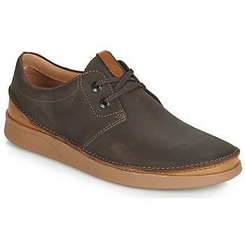 Chaussures Homme Derbies Clarks OAKLAND LACE Marron