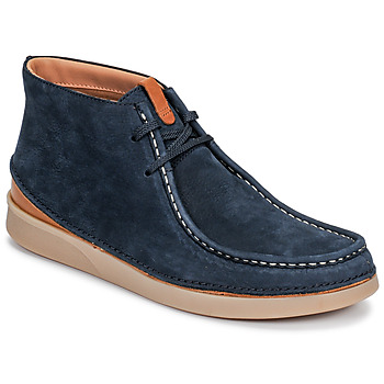 Chaussures Homme Boots Clarks OAKLAND MID Marine