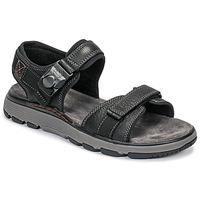 Chaussures Homme Sandales et Nu-pieds Clarks UN TREK PART Noir