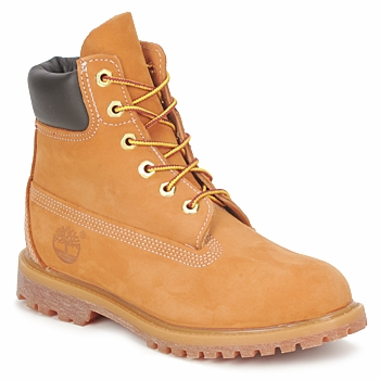 Chaussures Femme Boots Timberland 6 IN PREMIUM BOOT Blé Nubuck