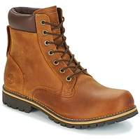 Chaussures Air max tnHomme Boots Timberland EK RUGGED 6 IN PLAIN TOE BOOT Marron foncé