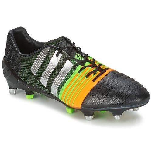 Chaussures Homme Football adidas Performance NITROCHARGE 1.0 SG Noir / Jaune