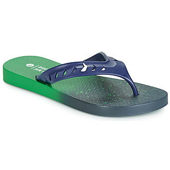 Chaussures Enfant Tongs Rider JAM FLOW THONG KIDS Vert / Bleu