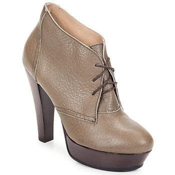Chaussures Femme Low boots Keyté ETRIOU Taupe