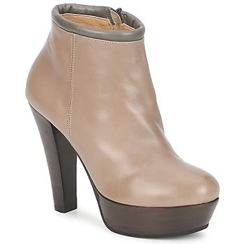 Chaussures Femme Low boots Keyté POULOI Taupe