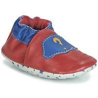 Chaussures Garçon Chaussons André LES BULLES Rouge
