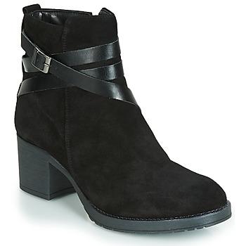 Chaussures Femme Boots André MIDWEST NOIR