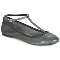 Chaussures Femme Ballerines / babies André LILAS Gris