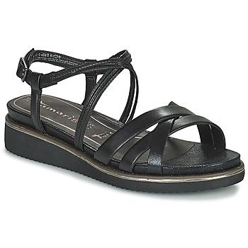 Chaussures Femme Sandales et Nu-pieds Tamaris EDA Noir