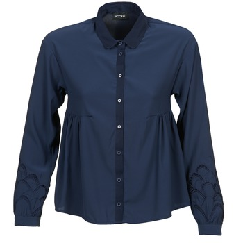 Vêtements Femme Chemises / Chemisiers Kookaï QUELATE Marine