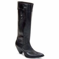 Chaussures Femme Bottes ville Stephane Gontard PUCCINI Noir