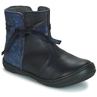 Chaussures Fille Boots André FLOTTE MARINE
