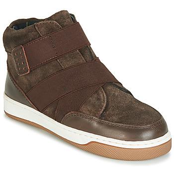 Chaussures Garçon Boots André CUBE MARRON