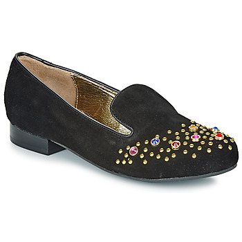 Chaussures Femme Mocassins Lola Ramona PENNY Noir / Doré