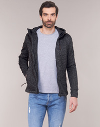 Vêtements Homme Sweats Superdry STORM INTERNATIONAL ZIPHOOD Noir