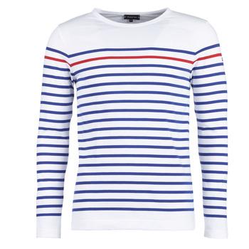 Vêtements Homme T-shirts manches longues Armor Lux REMPART Blanc / Bleu / Rouge