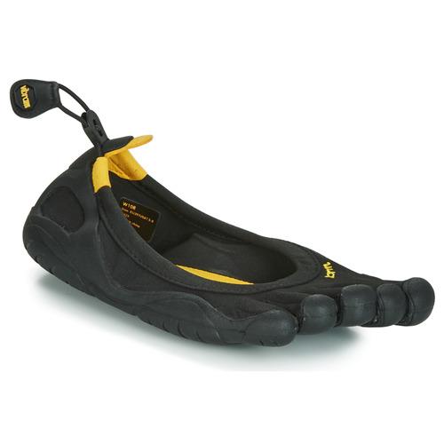 Chaussures Femme Multisport Vibram Fivefingers CLASSIC Noir / Jaune