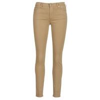 Vêtements Femme Pantalons 5 poches EAX à supprimer HELBIRO Beige
