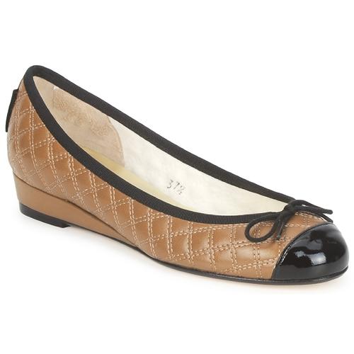 Chaussures Femme Ballerines / babies French Sole HENRIETTA TAUPE