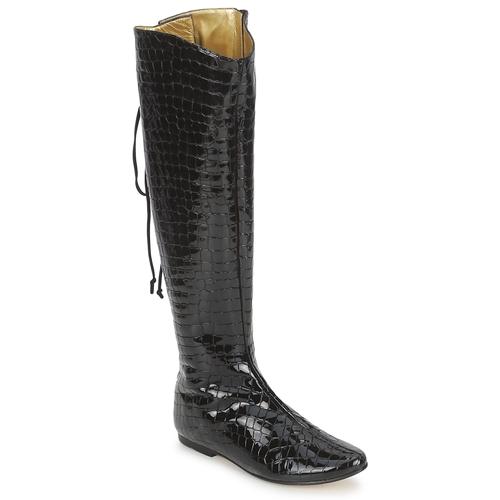 Chaussures Femme Bottes ville French Sole PRINCE NOIR