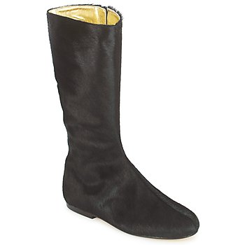 Botte ville French Sole PATCH Noir