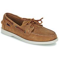 Chaussures Homme Chaussures bateau Sebago DOCKSIDES PORTLAND CRAZY H Marron